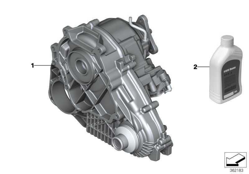 Verteilergetriebe ATC45L X6 X5  (27107643758)