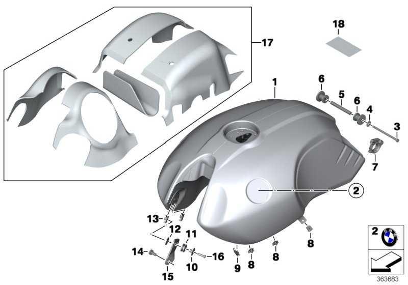 Kraftstoffbehälter mit Sichtnaht  K21  (16118562137)