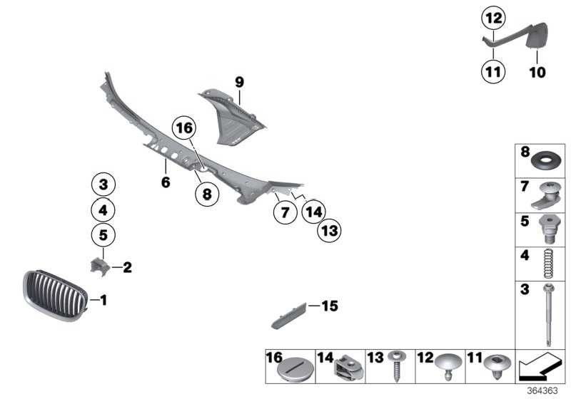 Abdeckung Windlauf  7er  (51717184563)