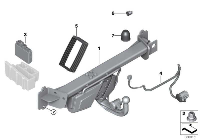 Steuergerät Anhängerkupplung AAG-01 X3 5er 3er X5 X4 X6 7er  (71606874848)