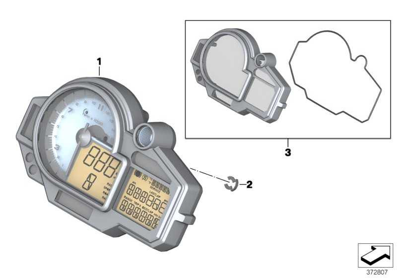 Instrumentenkombination 15-03-500 K46  (62118558134)
