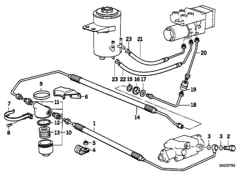 Zwischenstück M10X1 1er 3er 5er 6er 7er 8er M1 X1 X3 X5 X6 Z3 Z4 Z8 MINI  (34326757282)