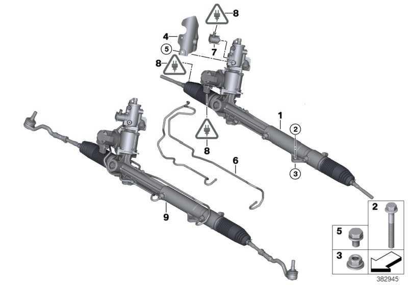 Austausch Hydrolenkgetriebe Aktivlenkung  X6 X5  (32106858488)