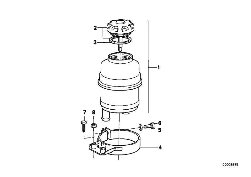Ölbehälter CHF 11.S        1er 3er 5er 6er 7er X1 X3 X5 Z3 Z4 Z8 MINI  (32416851217)