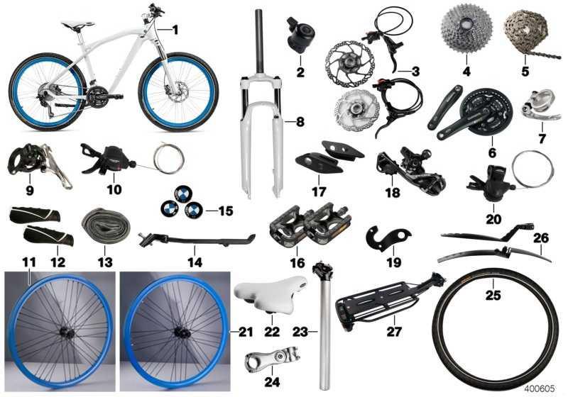 BMW Fahrradständer Standwell SW-MA024J BLACK  (80932285101)