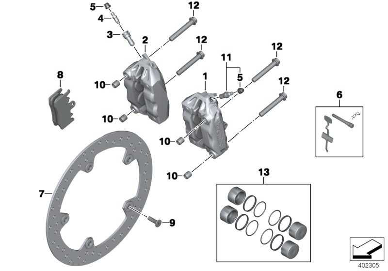 Bremssattel ohne Bremsbelag links  K21 K73  (34118535161)