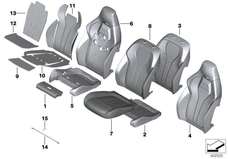 Bezug Sportsitz Leder ARAGONBRAUN X5 X6  (52108062282)