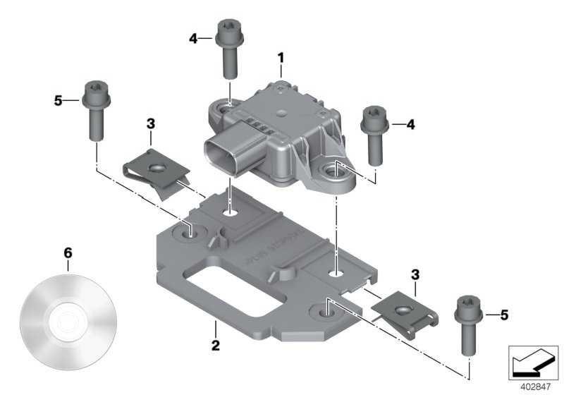 Zylinderschraube M6X16-8.8-ZNNIV  (07129907403)