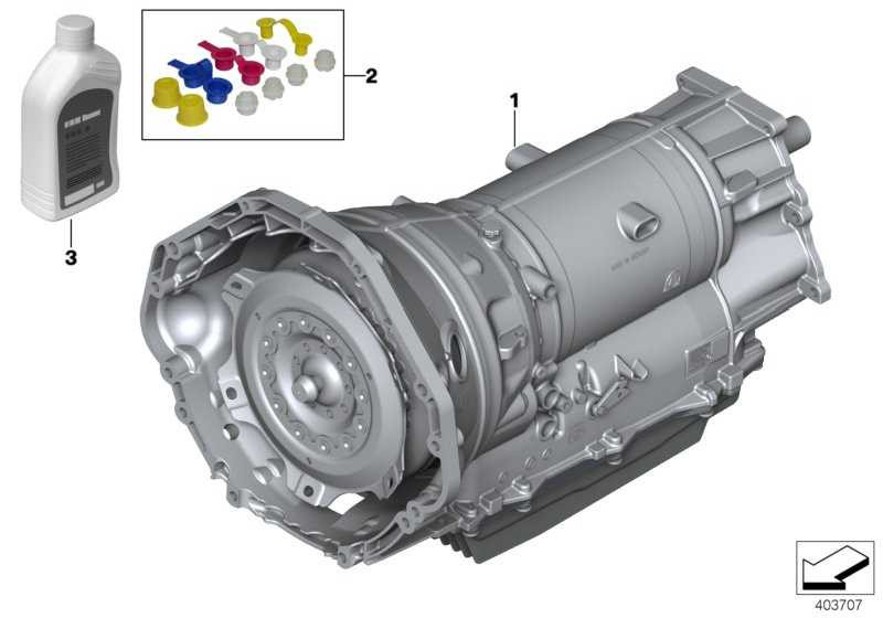 Austausch Automatikgetriebe EH GA8HP75Z X6  (24007854607)