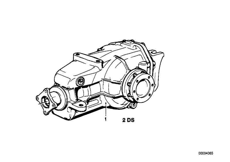 Dichtungssatz Hinterachsgetriebe TYP 188         3er 5er 6er 7er Z3  (33101210518)