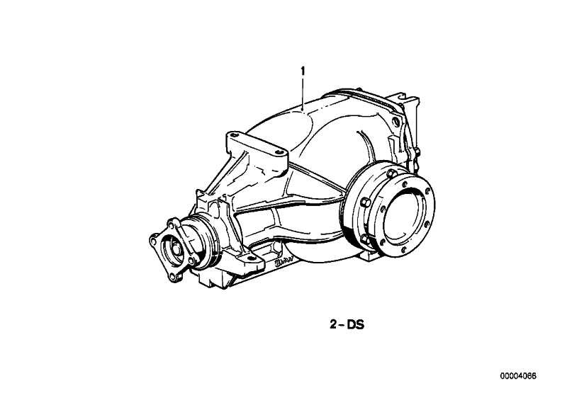 Dichtungssatz Hinterachsgetriebe  3er  (33101211731)