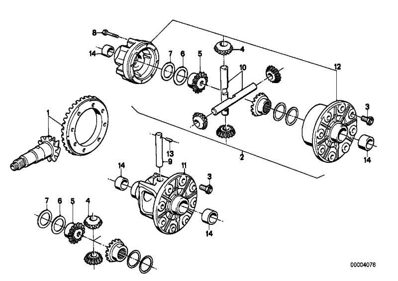 Sechskantschraube mit Dehnkopf M12X1,5X24       3er 5er 6er 7er Z3  (33121205561)