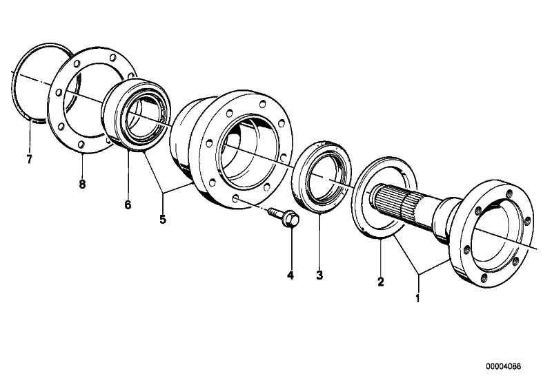 Wellendichtring mit Sicherungsring 67X44X10        3er 5er 6er 7er Z1 Z3  (33107505602)