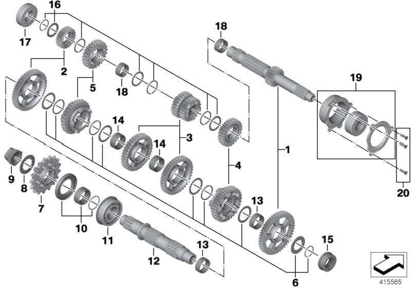 Scheiben/Sprengringe Antriebswelle  K46 K42 K47 K49  (23007721813)