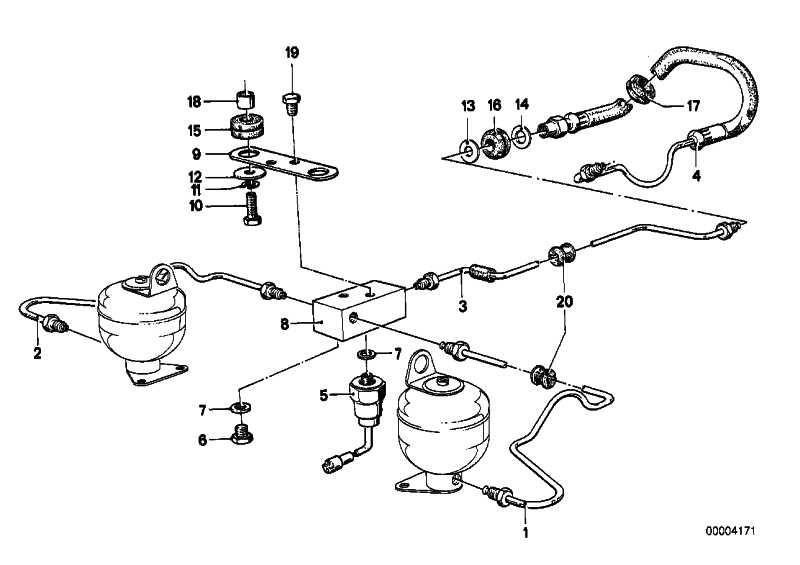 Rohrleitung M10/M10-1175MM   3er 5er 7er 8er Z1  (34326755612)