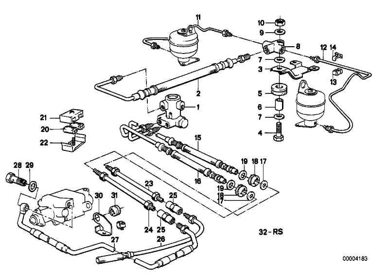 Rohrleitung M10/M10-3120MM  3er 5er 7er Z1  (34326755686)