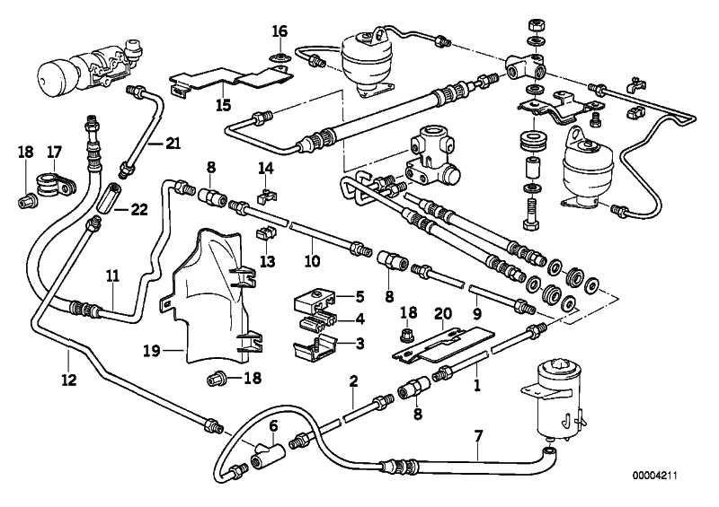 Rohrleitung M10/M10-2915MM   3er 5er 7er 8er Z1  (34326755121)