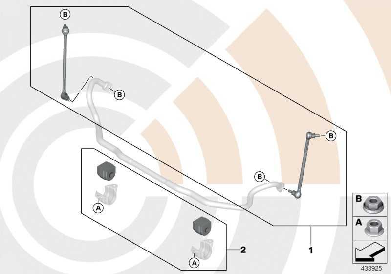 Reparatursatz Gummilager Stabilisator VALUE LINE 1er 3er  (31352405870)