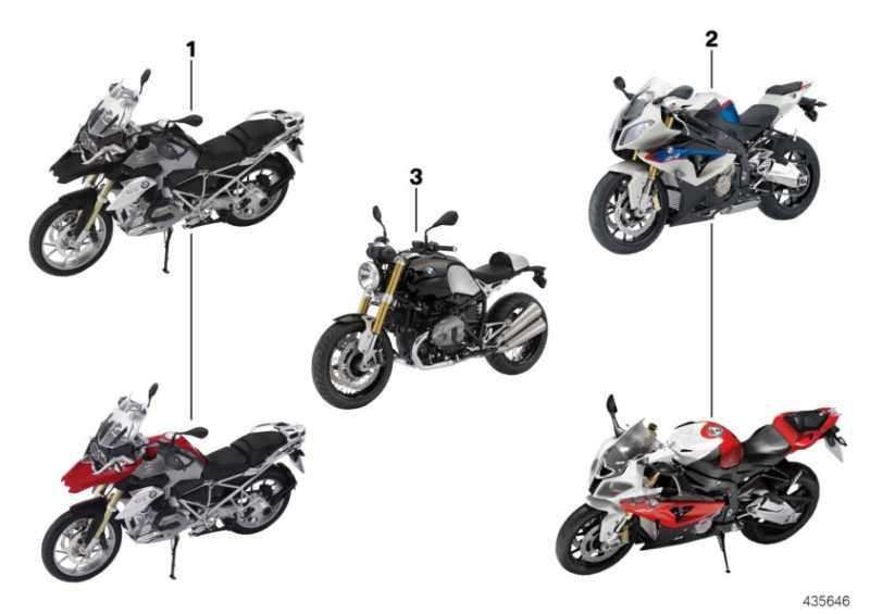 BMW Motorrad Miniatur S1000 RR 1:10 ROT              (80432222497)