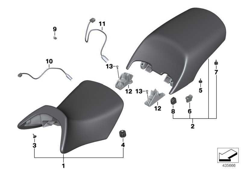 Adapterleitung Sitzheizung vorn   (61127688145)