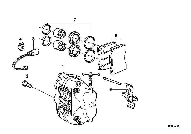 Reparatursatz Bremsbeläge asbestfrei ENERGIT 582     5er 6er  (34112226009)