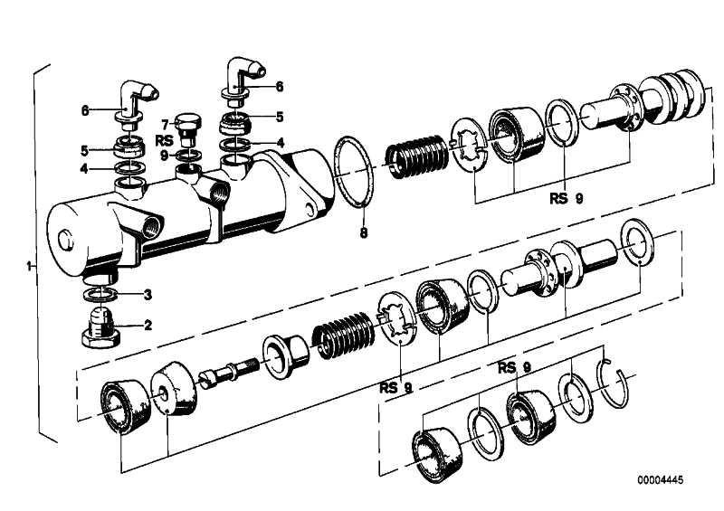 Hauptbremszylinder 2 KREIS D=23,81  5er  (34311120478)