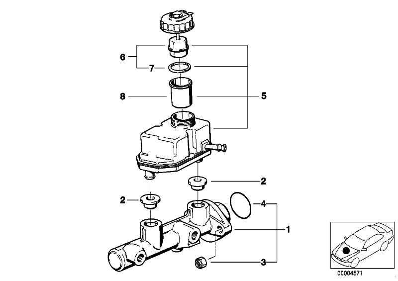 Ausgleichsbehälter  3er  (34321160225)