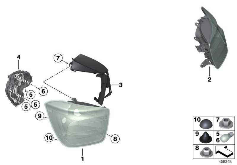 Lampenträger Heckleuchte links  1er  (63217315199)
