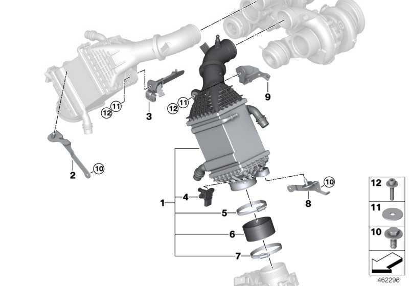 Ladeluftkühler ZYL. 1-4 X5 X6  (17517848096)