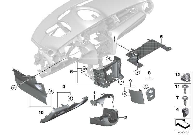 Verkleidung Fussraum Beifahrer  MINI  (51459301545)