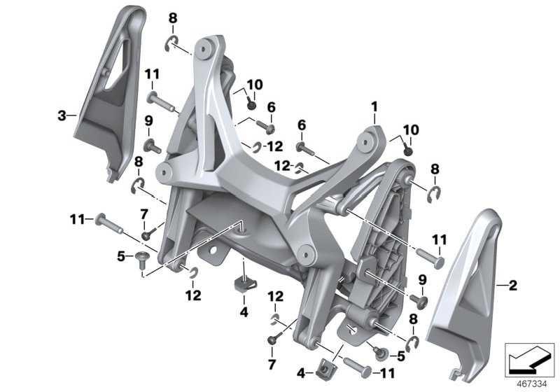 Karosserieschraube ohne Bund M4X16  (46638534941)
