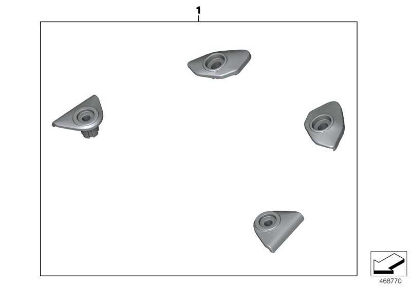 Satz Blenden Haltegriffbohrungen   (77308546226)