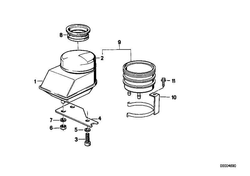 Flüssigkeitsbehälter hinten   (34311241961)