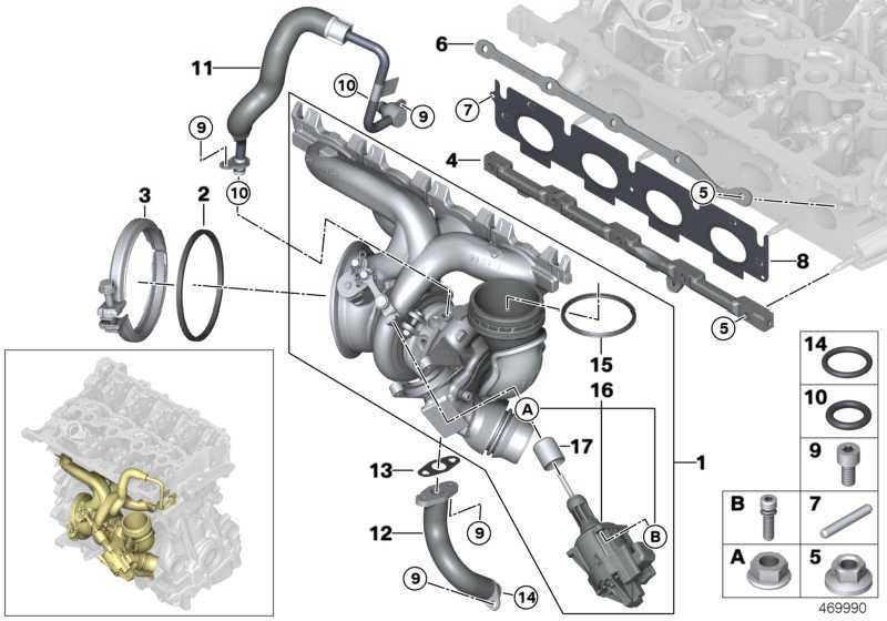 Austausch Turbolader  2er X1 MINI  (11658626637)