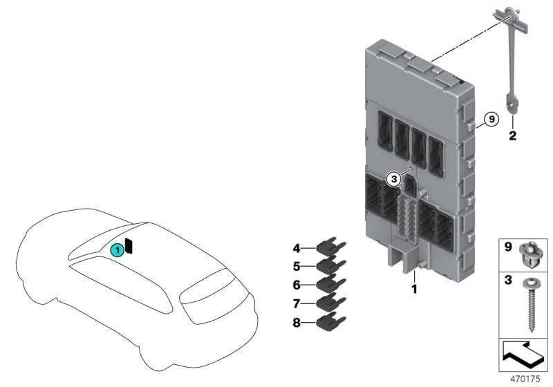 Body Domain Controller BDC  2er X5 X6 MINI  (61359369630)