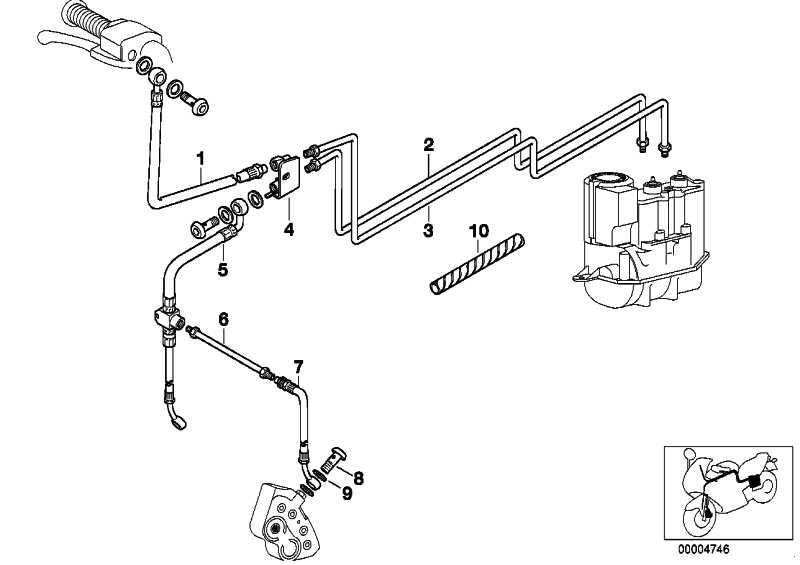 Bremsschlauch ABS              (34322332447)