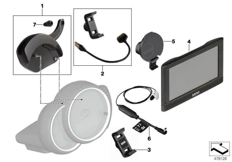 Halter Spange Samsung S2/S3/S4 mit NFC MINI C&D MINI  (65902286526)