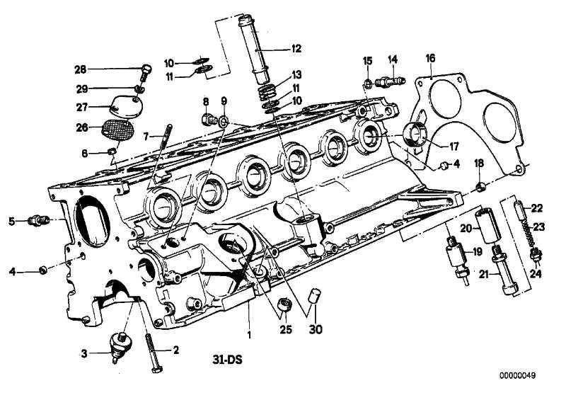 Stiftschraube M8X50            3er 5er 6er 7er Z3  (07129908135)