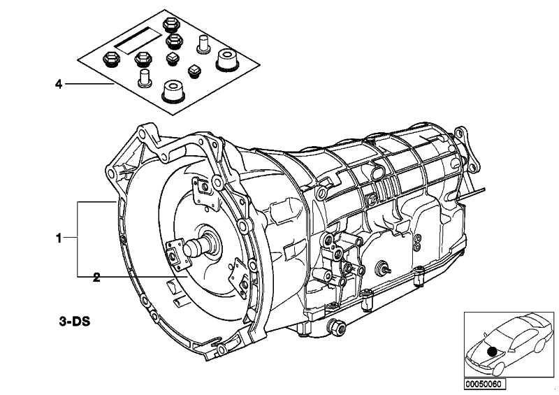 Austausch Automatikgetriebe EH A5S 310Z - LW   3er 5er  (24001219956)