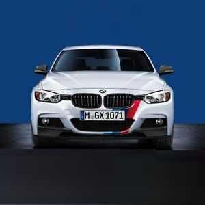 BMW M Performance Front- und Heckstreifen für 3er F30 mit M Sportpaket (P337A) und PDC