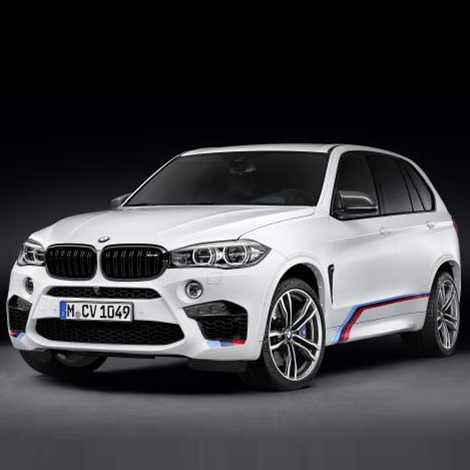 BMW M Performance Motorsportstreifen X5M F85 X6M F86