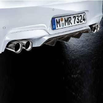 BMW M Performance Heckdiffusor Carbon 5er F10 F5