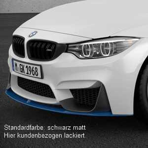 BMW M Performance Frontaufsatz schwarz matt M3 F80 M4 F82 F83