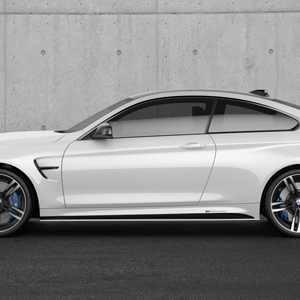 BMW M Performance Schwelleraufsatz schwarz matt M4 F82 F83