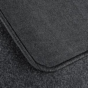 BMW Fußmatten Velours Satz vorne/hinten anthrazit 3er E46