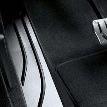 BMW M Performance Fußstütze Edelstahl X3 F25 X4 F26