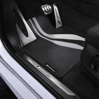 BMW M Performance Fußmatten Satz hinten 5er F10 F11