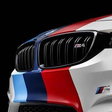 BMW M Performance Frontziergitter hochglanz schwarz M4 F82