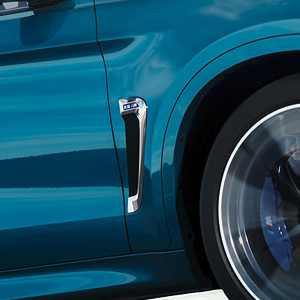 BMW M Performance Zierstäbe Seitenwand hochglanz schwarz X6M F86
