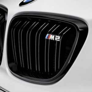 BMW M Performance Ziergitter hochglanz schwarz M2 F87